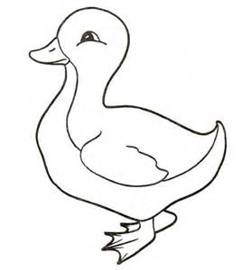 Duck Coloring Pages Duckling Coloring Page Supercoloring Com by Duck Coloring Pages