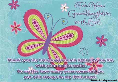 Birthday Quotes For A Granddaughter Inspirational Quotes For Granddaughter Birthday Quotesgram