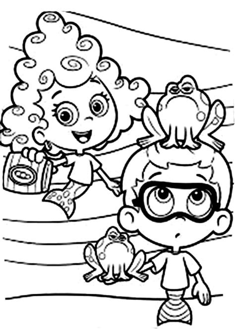 funny deema and nonny from bubble guppies coloring page excellent bubble guppies coloring sheets ideas exle