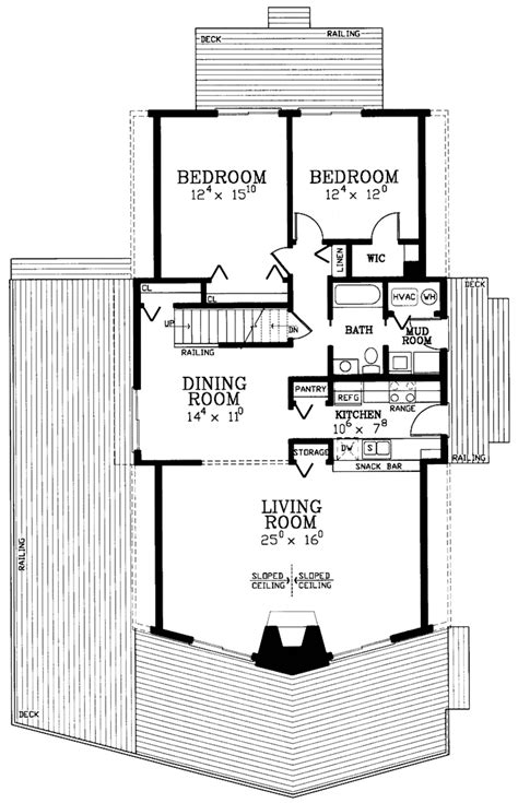 4 bedroom house plans page 299 house plan 3 beds 2 baths 2054 sq ft plan 72 1048