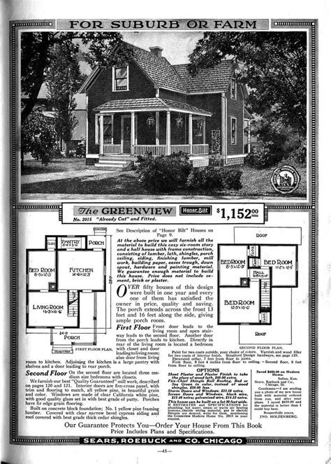 1900 sears house plans searsarchives quot sears homes