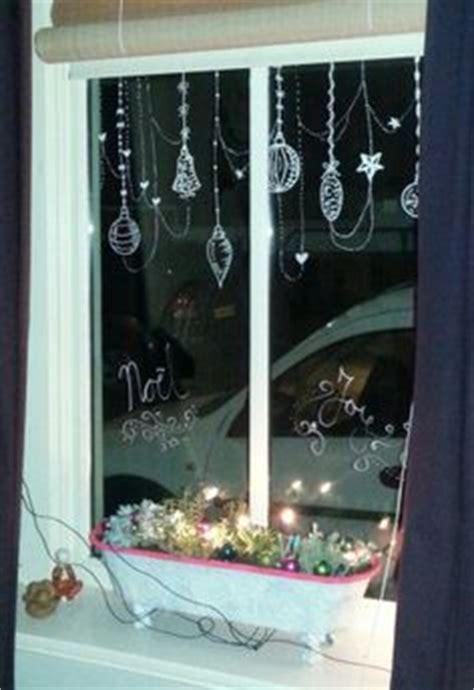 Fenster Weihnachtlich Gestalten by Weihnachtsfenster Mit Kreidemarker Edding