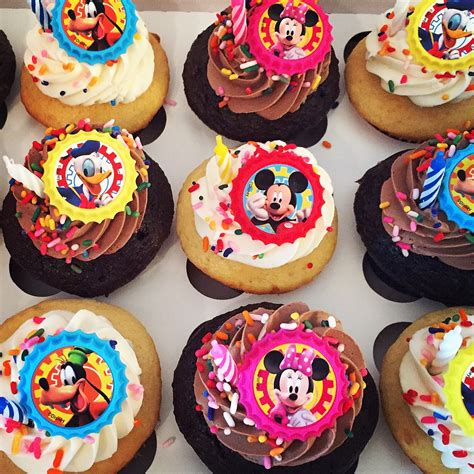 Mickey mouse clubhouse cupcakes the cupcake delivers