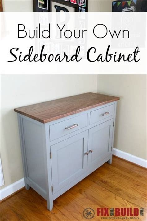 1000 Images About Do It Yourself Projects On Pinterest Build Your Own Buffet Cabinet
