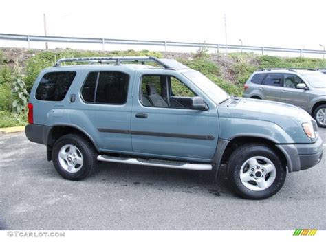 2001 mineral blue metallic nissan xterra se v6 4x4 51478597 photo 4 gtcarlot car color