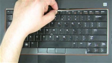 dell latitude e6420 keyboard removal and installation