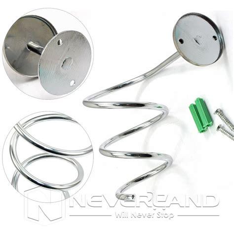Curling Iron Dryer And Flat Iron Holder Wall Mount curling iron dryer holder hair care organizer storage wall mount bathroom ebay