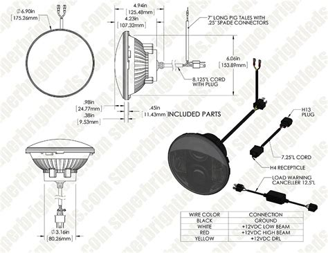 h6024 headlight wiring diagram wiring diagram with