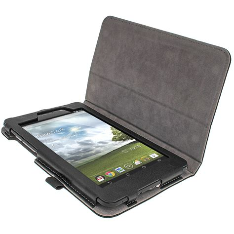 Hp Asus Fonepad Me371mg igadgitz black ergo portfolio pu leather for asus fonepad me371mg 7 quot tablet 16gb 32gb