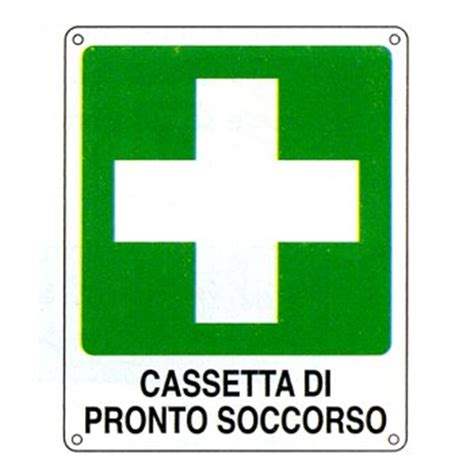 cassetta di pronto soccorso aziendale cartello quot cassetta di pronto soccorso