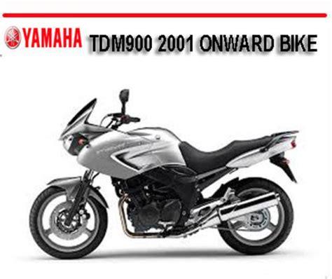 Yamaha Tdm900 Tdm 900 2001 Onward Bike Repair Manual