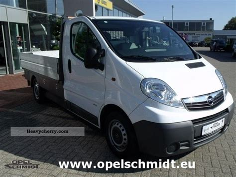 opel vivaro 2007 opel vivaro 2007 box type delivery van photo and specs