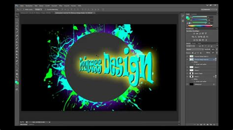 Tutorial Logo Erstellen Photoshop | photoshop tutorial logo erstellen german youtube