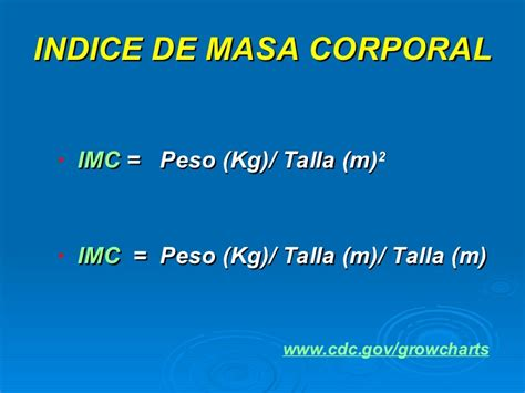 indice de masa corporal uso del indice de masa corporal en pediatria