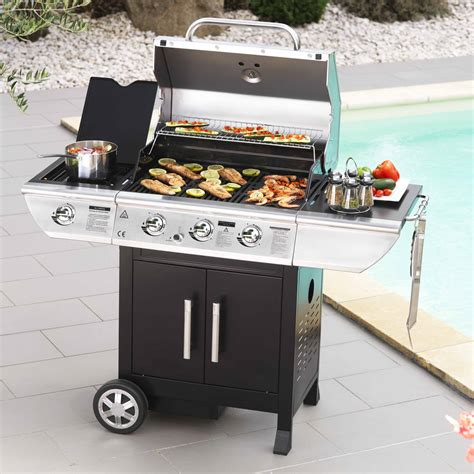 Barbecue Gaz Mixte Grille Plancha by Barbecue Gaz Mixte Grille Plancha