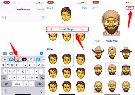 tutorial to set up memoji in ios 12 iphone x xr xs