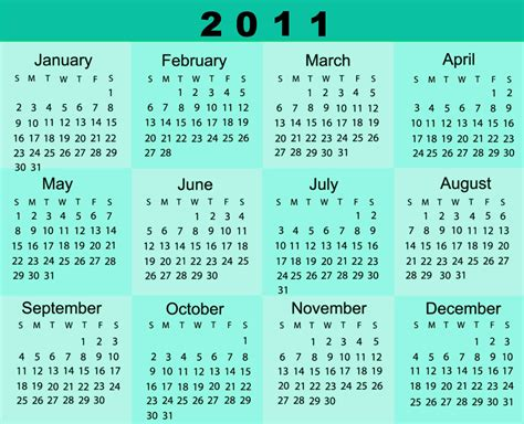 Www Calendar 2011 Calendar
