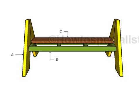 a frame bench a frame bench plans howtospecialist how to build step