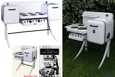 all in one kitchen appliances electrochef an all in one vintage kitchen appliance set