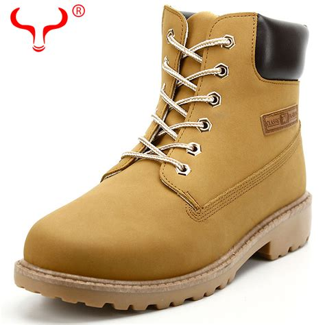 aliexpress buy new big size leather boots winter