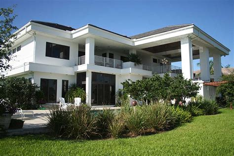 Modern Florida House Plans | contemporary florida style home plan 32051aa 2nd floor
