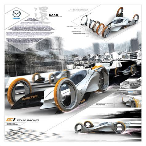 panel designs mazda kaan futuristic electric car concept to compete