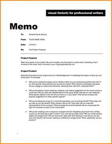 Memo Sle Exle 4 Sle Of A Memo Cna Resumed