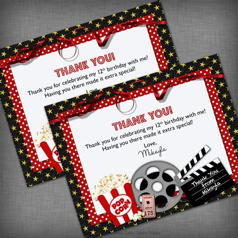 Cards Themed - theme thank you card by chebellacarta on etsy