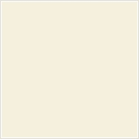 f5f1de hex color rgb 245 241 222 beige yellow