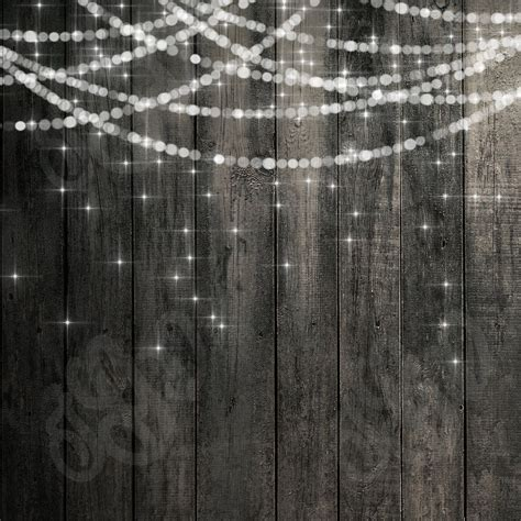 bokeh string lights rustic wood chalkboard digital