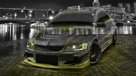 mitsubishi jdm 4k mitsubishi lancer evolution jdm tuning crystal city car