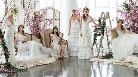 Beautiful Wedding Dresses by The Most Beautiful Wedding Dresses From Bridal Fashion Week