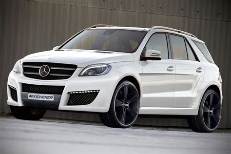 the new mercedes ml refined by kicherer