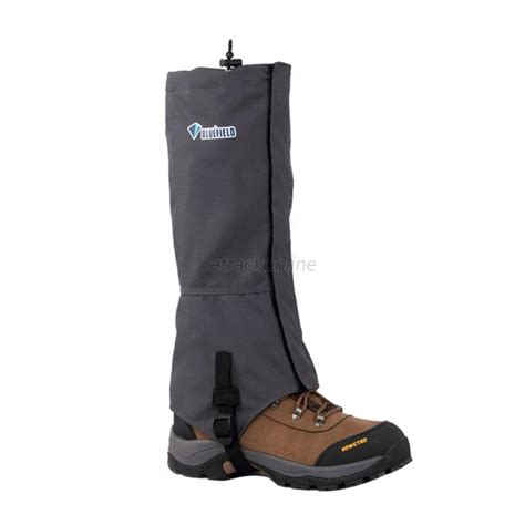 boot gaiters outdoor climbing hiking snow ski shoe leg cover waterproof