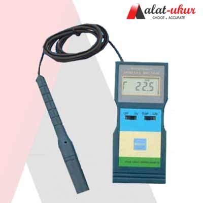Clock And Humidityjam Digital Dan Pengukur Suhu pengukur suhu kelembaban digital meter ht 6290