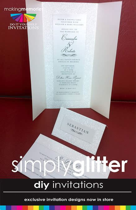 Handmade Wedding Invitations Sydney - idesign print
