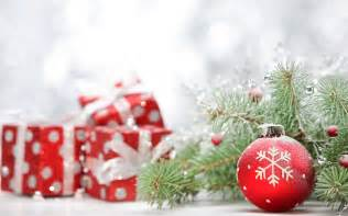 the festive christmas gifts photography wallpaper 5