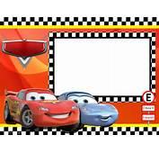 Kit Anivers&225rio Personalizados Tema Carros Da Disney Para Imprimir