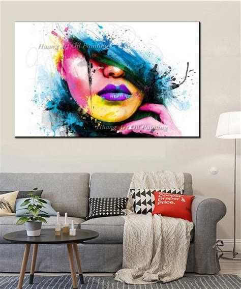 Buy Now Pay Later Home Decor Wall For Large Walls Fashion Unframed Canvas Painting F Dollar Bargains