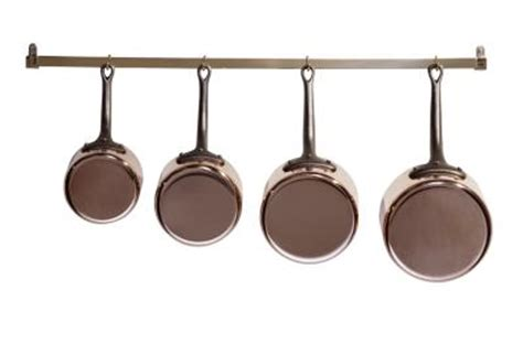 Wall Grid For Hanging Pots And Pans How To Hang Pots Pans From The Wall Home Guides Sf Gate