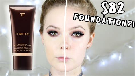 tom ford foundation review tom ford waterproof foundation review demo foundation