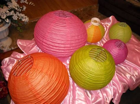 How To Make Paper Lantern Balls - how to make a paper lantern with pictures ehow