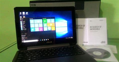 Usb Asus Asli netbook asus tp201s dual n3710 tuchscreen layar bisa