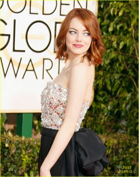 emma stone just jared emma stone brings her brother to golden globes 2015