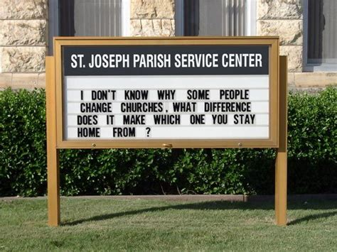 funny church signs ideas  pinterest funny