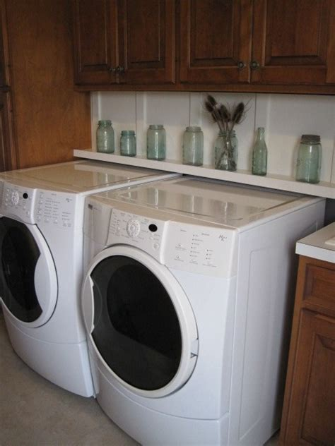 hide washer and dryer hide the washer dryer hook ups laundry room pinterest