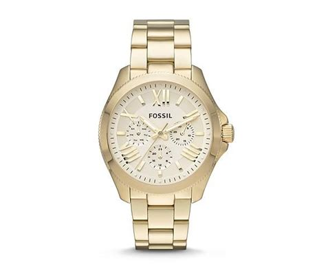 s gold watches fossil chunky and classic
