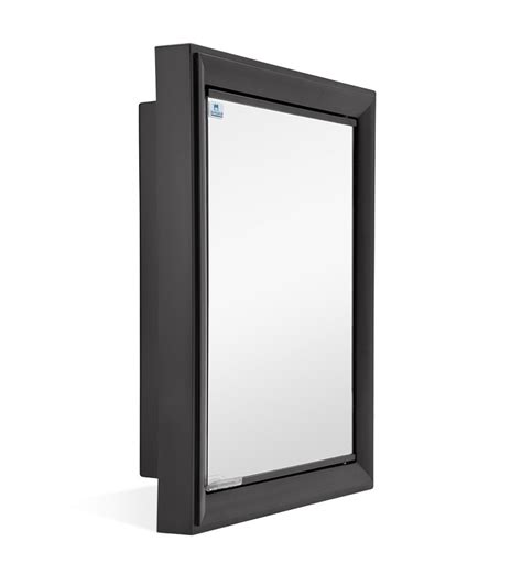 Black Mirrored Bathroom Cabinet Nilkamal Gem Mirror Cabinet Black By Nilkamal Bathroom Cabinets Bathroom Cabinets