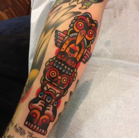 tribal totem pole tattoo designs totem pole tattoos designs ideas and meaning tattoos