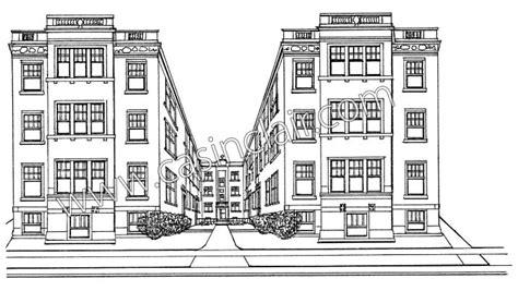 draw your apartment historic detroit apartment building grosse pointe prints grosse pointe portraits